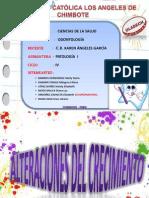 """ALTERACIONES DE CRECIMIENTO """"RAQUITISMO, ENANISMO Y CRETINISMO"""""""