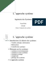 L Approche Systeme