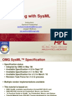 SYSML Modelling