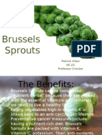 Brussels Sprouts ppt