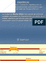 Cultura Zapotecas