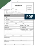 Applicatio Form CSD (1st of Oct 2012)