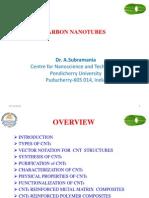 CNTs Class Presentation 2012