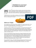 Halloween Article