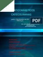 simpaticomimeticos farmacologia