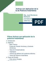 Filtros Activos con aplicación de la potencia instantánea