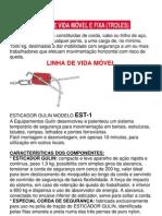 LINHA DE VIDA FIXA E MÓVEL
