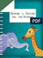 """Texto """"Aprendo y escribo con los Animales"""""""