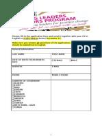 YLVP Application Form 2013.doc