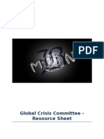 Crisis Committee Resource Sheet