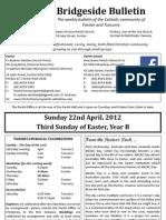 2012-04-22 - 3rd Easter