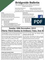 2012-11-18 - 33rd Ordinary