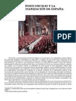 EL POSTCONCILIO Y LA DESCRISTIANIZACIÓN DE ESPAÑA - José Miguel Gambra