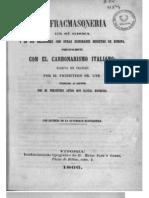 La Francmasonería y otras Sociedades secretas - Pbro. Sr. Gyr