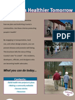 Building a Healthier Tomorrow Brochure