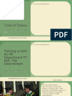 Project_Train of Trainer_BSP Downstream