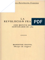 La Revoluciòn Francesa - Monseñor Freppel
