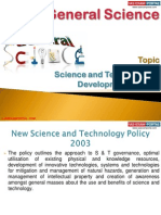 41(B) Science and Technological Development in India