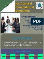 Cross Cultural Communication & Negotiation