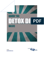 Know the Detox Diet Basics