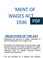 Unit 3 Payment of Wages Act 1936