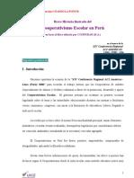 Cooperativismo escolar en el Perú