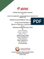 Airtel-marketing Strategy New