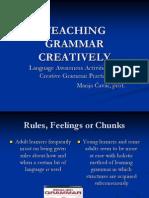 Teachin Grammar Creatively