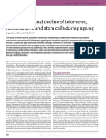 Linking Functional Decline of Telomeres Nature Sahin 2010