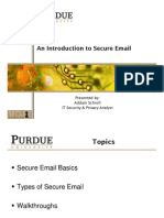 Using Secure Email