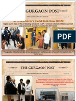 FMRI  Gurgaon Newsletter