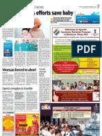 DNA Coverage 8th Nov