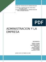 Admin is Trac Ion y Empresa Dayana