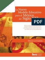NUEVO MODELO EDUCATIVO SIGLO XXI SNTE