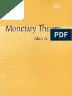 Rabin A. Monetary theory