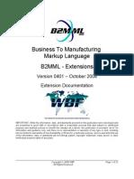 B2MML V0401 Extensions