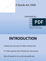Sale of Goods Act (1) Final