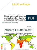 EOA and Climate Change in Tz
