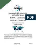 B2MML V0401 Maintenance