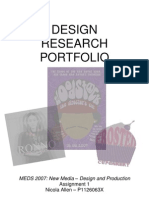 Design Research Portfolio - MEDS2007
