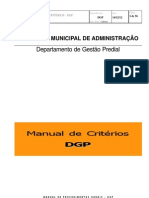 Criterios DGP - atualização 12dez12