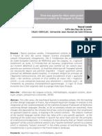 Pour une approche objet-sujet-projet en enseignement scolaire de l'espagnol en France Pascal Lenoir IUFM des Pays de la Loire, CELEC-CEDICLEC, Université Jean Monnet de Saint-Étienne