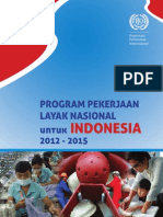 Program Pekerjaan Layak Nasional Untuk Indonesia 2012 - 2015