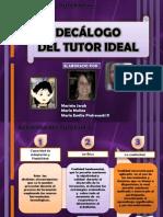 Decalogo Del Tutor Ideal Maria Jerak Maria Molina y Maria Emilia Pietrosanti (1)