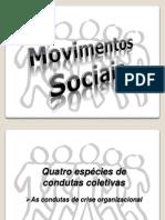 Apresentação Movimentos Sociais