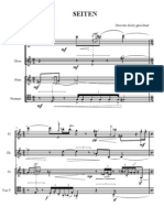 SEITEN per quartetto di fiati (wind quartet)