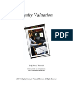 Tutorial Equity Valuation