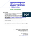 Clinical Effectiveness Bulletin no. 70 November 2012