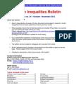 Health Inequalities Bulletin no. 35 October - November 2012