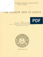 87506844 Coomaraswamy the Darker Side of Dawn